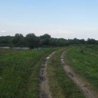 Teich und Damm bei Opole, Бржег