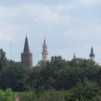 Opole/Oppeln - Türme/Towers of Opole, Бржег
