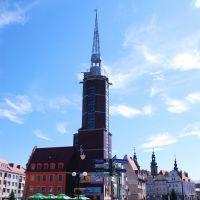 Nysa - Rynek - Ratusz (photo by Zbyszek), Ныса