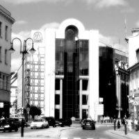 Opole - plac  Wolności, widok na ulicę Ozimską, Ополе