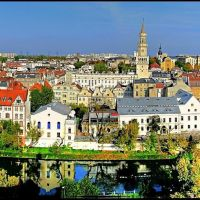 Opole - panorama, Ополе