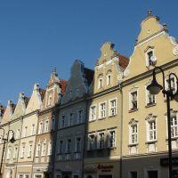 Houses in Opoles Old Town / Domy w stara miasta opolskie / Häuser in der Oppelner Altstadt, Ополе