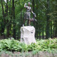 posąg bogini Diany zrekonstruowany według oryginału z 1911, Прудник