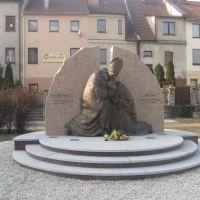 Prudnik-pomnik Papieża i Prymasa Wyszyńskiego, Прудник