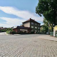Skrzyżowanie ulic: Młyńskiej, Traugutta i Moniuszki w Prudniku, Прудник