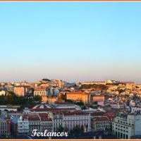 Panorama  vespertino  de  Lisboa (f)  Open  please  and   see   Lisbon, Лиссабон