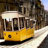 Lisbonne, tram, Лиссабон