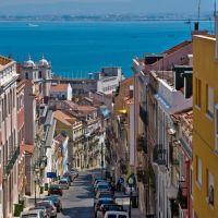 Lisboa, Rue de Borges Carneiro ¦ pilago, Лиссабон
