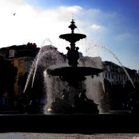 LISBOA -  Rossio, fonte *** LISBON - Rossio, fountain, Лиссабон