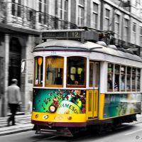 Barrido de tranvía, Лиссабон