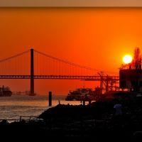 Atardecer en Lisboa: Para C.gpeña☂, Лиссабон