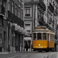 The beauty of the Lisbon tram nº 28 - Portugal, Лиссабон