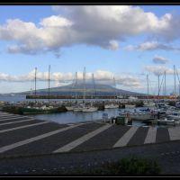 Horta - Hafen, Blick auf Pico, Вила-Нова-де-Гайя