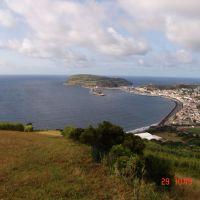 """Miradouro - Vista Parcial de Horta - Faial - Açores - Portugal - 38º 32 36.96"""" N 28º 37 12.26"""" W, Вила-Нова-де-Гайя"""