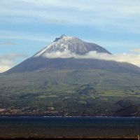 Island of PICO (Azores), from island of Faial, Вила-Нова-де-Гайя