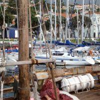 Faial veleiro atracado na Baía da Cidade da Horta!..., Вила-Нова-де-Гайя