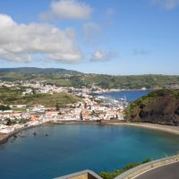 View to Angustias,praia do porto pim (Faial), Матосинхос