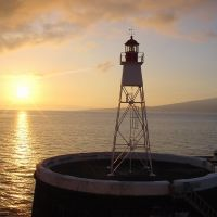 Azores - Sunrise at Faial Island Harbour, Матосинхос