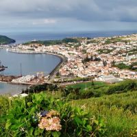 Cidade da Horta, Ilha do Faial, Опорто