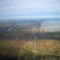 Развязка с М4 у Адыгейска, Адыгейск