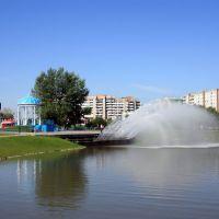 Преображенский сквер, фонтан, Абакан