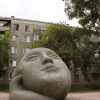 """Sculpture """"Dreamer"""" by Konstantin Zinich, Абакан"""
