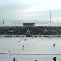 Стадион Саяны Зимой, Абакан