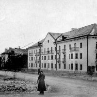 1958 год, Абакан, улица Щетинкина, Абакан