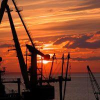 Sunset over Anadyr, Анадырь