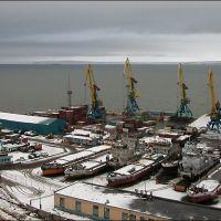 Анадырский порт, Анадырь