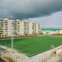 Футбольное поле, Радужный