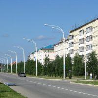 Улица Узбекистанская (Бам), Урай
