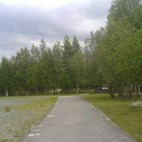 Беговая дорожка стадиона 1 школы, Пыть-Ях