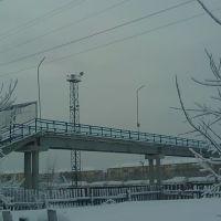 Пешеходный мост через железнодорожные пути, Пыть-Ях