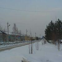 улица Советская по направлению на Лесхоз, Пыть-Ях