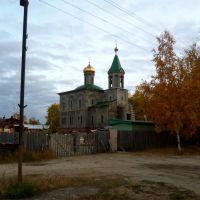 Строящаяся церковь, Игрим