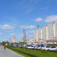 Langepas. Лангепас, улица Ленина, Лангепас