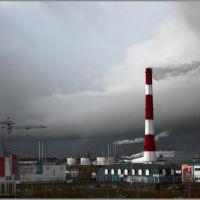 промышленный пейзаж, Лангепас