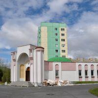 Mosque under construction, Лангепас