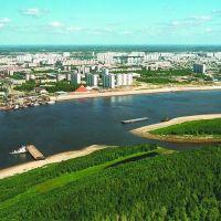 Прибрежная зона + Остров Сокровищ, Нижневартовск