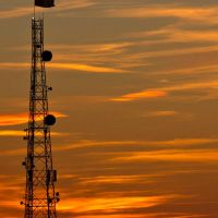 Radio tower, Нижневартовск