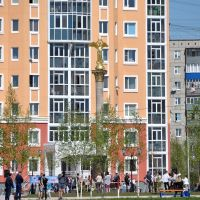 """Opening ceremony of monument to Patrons """"Kind Angel of Peace"""" in Nizhnevartovsk, Нижневартовск"""