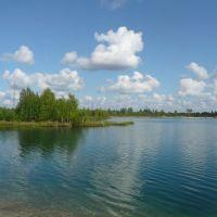 На озере в конце августа 2009 года, Аган