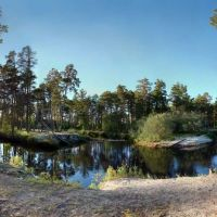 Vachym river, Лянтор