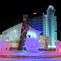 Новогодний Сургутгазпром., Сургут