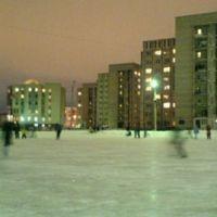 Каток (Двор 32 школы) (февраль 2008), Сургут