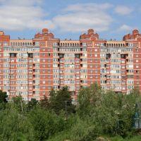 Просто красивое здание (ул. университетская 7) (май 2009), Сургут