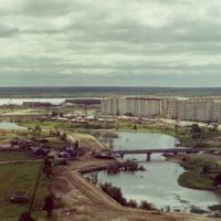 "View to Surgut from the roof of the building of ""Surgutgazprom"", Сургут"