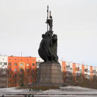 Памятник основателям города.2009, Сургут