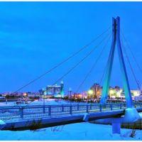 Сургутский пешеходный мост, Сургут